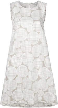 Peserico sleeveless printed dress