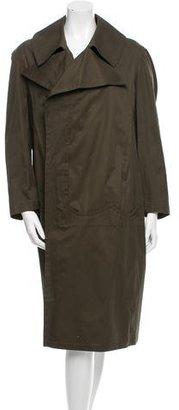 Yohji Yamamoto Oversize Wrap Coat w/ Tags $795 thestylecure.com