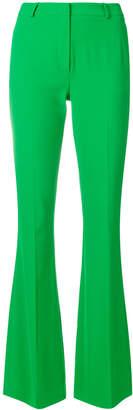 Capucci slim flared trousers