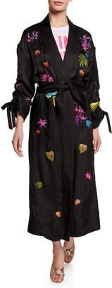 Cinq à Sept Aziza Embroidered Kimono Jacket