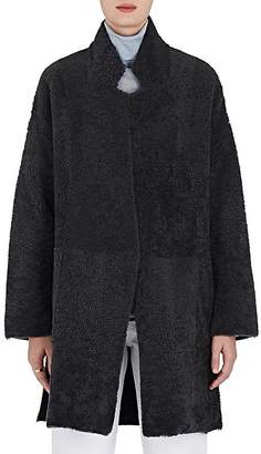 Boon The Shop Women's Lamb Fur & Wool-Cashmere Coat