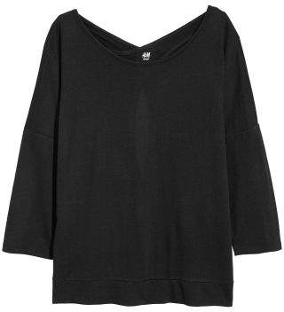 H&M Yoga Top - Black