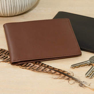 Noble Macmillan Personalised Leather Wallet