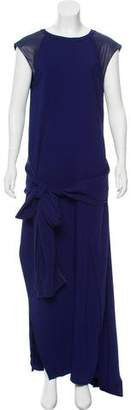 Reed Krakoff Sleeveless Wrap Dress