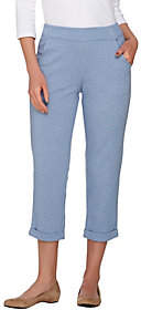 Linea by Louis Dell'Olio Leisure by Louis Dell'Olio Pull-OnCropped Pants