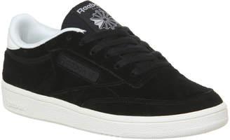 655998204b78f Reebok Club C 85 Trainers Black Chalk Premium