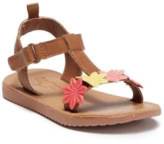 Osh Kosh OshKosh Colette Floral T-Strap Sandal (Toddler & Little Kid)