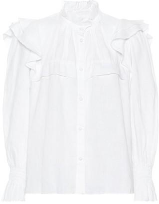 Etoile Isabel Marant Isabel Marant, étoile Tedy linen shirt
