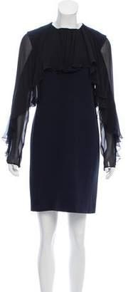 Giambattista Valli Fluted Mini Dress