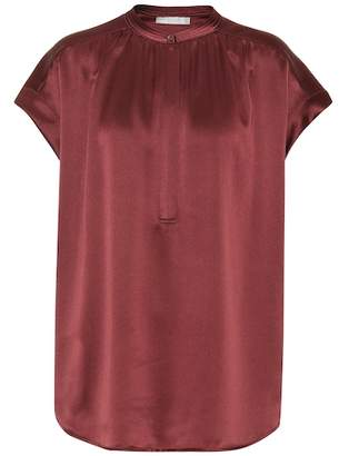 Vince Silk satin top