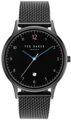 Ted Baker NR  Men's Black Analogue Bracelet Watch Te50519006
