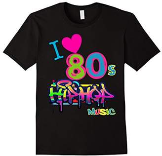 CUTE LOVE 80s HIP HOP Music Dance Party Outfit Shirt
