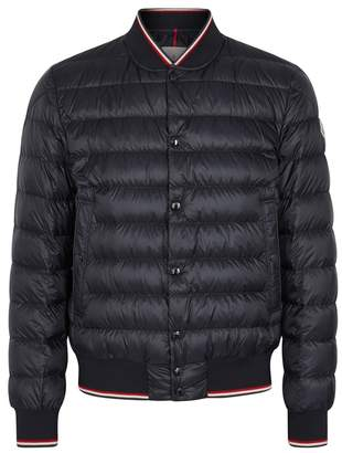 Moncler Aubrey Navy Quilted Shell Jacket