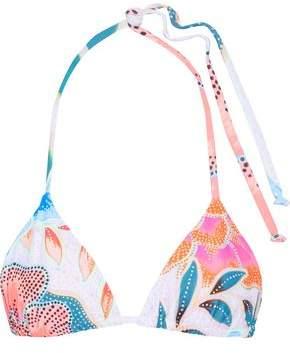 Mara Hoffman Printed Triangle Bikini Top