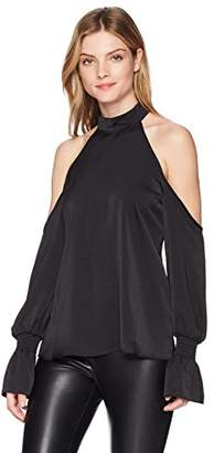 KENDALL + KYLIE Women's Cold Shoulder Top