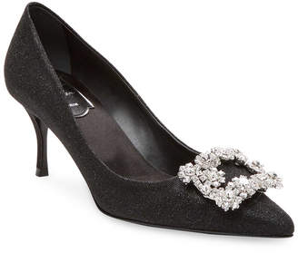 Roger Vivier Brooch Toe Pump