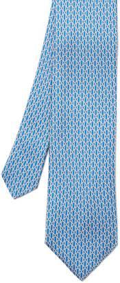 J.Mclaughlin Italian Silk Tie in Mini Rings