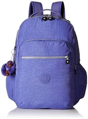 Kipling Seoul GO Bold Purple Laptop Backpack