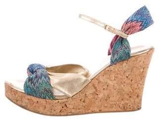 Missoni Knit Wedge Sandals