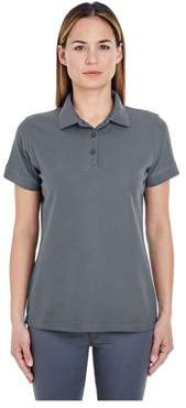 ULTRACLUB UltraClub Women's Basic Blended Pique Polo Shirt, Style 8560L