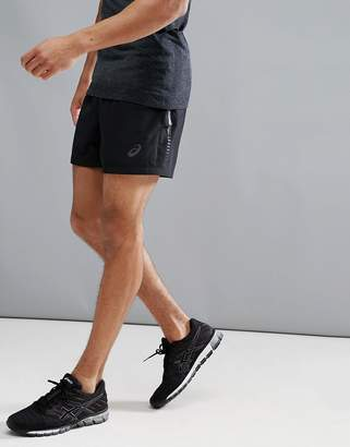 Asics Running 5 Shorts In Black 134630-0904