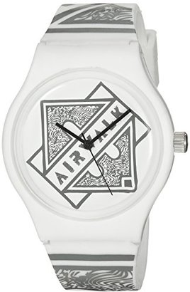 Airwalk クォーツプラスチックとシリコンCasual Watch , Color : White ( Model : aww-5089-wt )