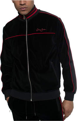 Sean John Men Velour Track Jacket