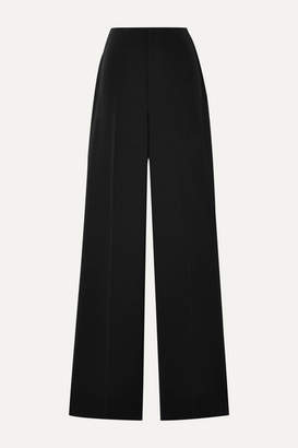 Alice + Olivia Alice Olivia - Lorinda Brushed-twill Straight-leg Pants - Black