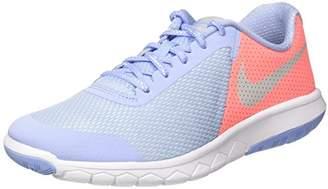 Nike Girls' Flex Experience 5 Se Gg Sneakers, Grey (Aluminum/MTLC Pure Platinum-Lava Glow-White 400), 5UK