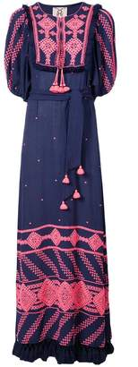 Figue Mela embroidered dress