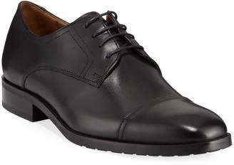 Robert Talbott Men's Mayfair Cap-Toe Lace-Up Shoes