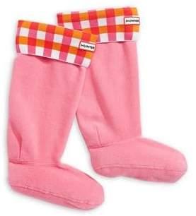 Hunter Gingham Boot Sock