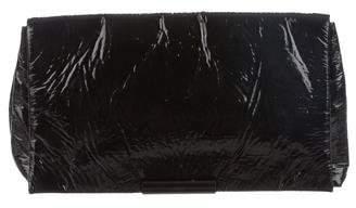 Alexander McQueen Shiny Vinyl Clutch