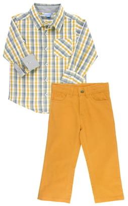 RuggedButts Plaid Shirt & Pants Set