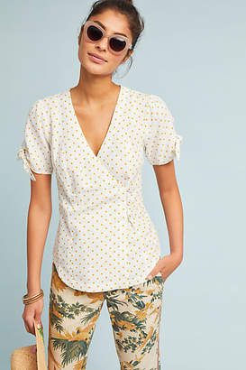 Maeve Louise Wrapped Blouse