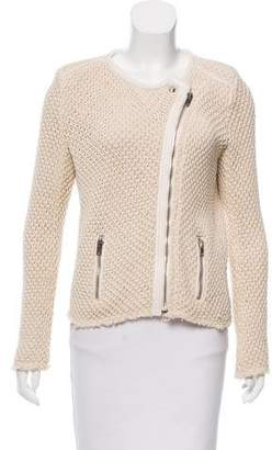 IRO Leather-Trimmed Miali Jacket