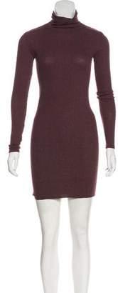 Enza Costa Rib Knit Mini Dress