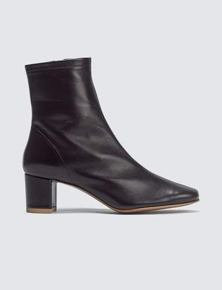 BY FAR Sofia Black Leather Boots