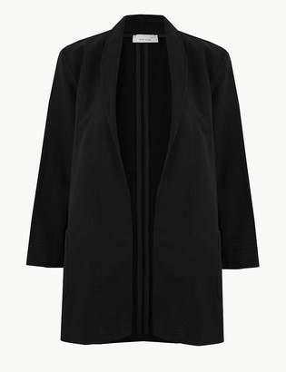 Marks and Spencer Cotton Rich Open Front Kimono