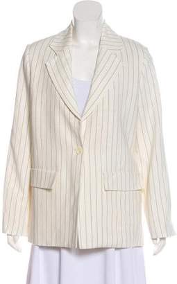 Studio Nicholson Stripe Long Sleeve Blazer