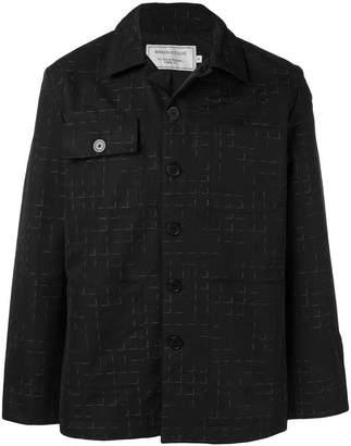 MAISON KITSUNÉ check shirt jacket