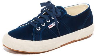 Superga 2750 Velvet Sneakers $119 thestylecure.com