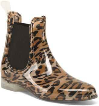 Leopard Twin Gore Rain Booties
