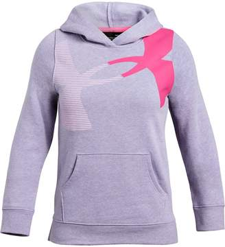 Under Armour Girls' UA Rival Fleece Hoodie