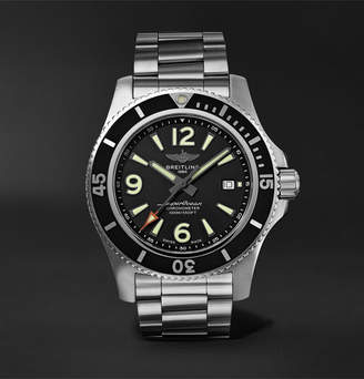 Breitling Superocean Automatic 44mm Stainless Steel Watch, Ref. No. A17367d71b1a1 - Black