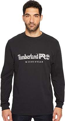Timberland Men's Cotton Core Long-Sleeve T-Shirt