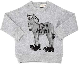 Stella McCartney Donkey Organic Cotton Sweatshirt