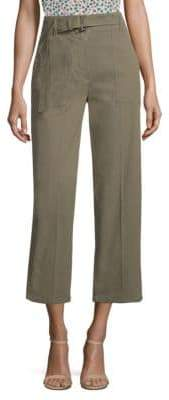 Max Mara Pattino Cropped Utility Pants