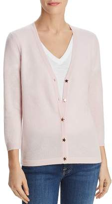 Bloomingdale's C by Star-Button Cashmere Cardigan - 100% Exclusive