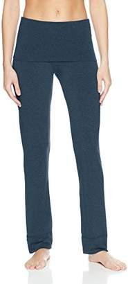 Splendid Women's Studio Activewear Fitness Workout Convertible Bottom Pants